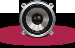 speaker-icon-2 - pink